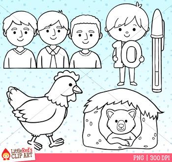 Word Family EN Clip Art