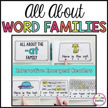 Word Family Emergent Readers  Bundle