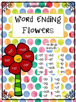 Word Family Endings
