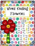 Word Family Endings