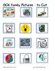 Word Family File Folder Game - OCK Family