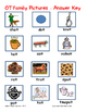 Word Family File Folder Game - OT Family