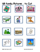 Word Family File Folder Game - UB Family