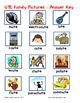 Word Family File Folder Game - UTE Family