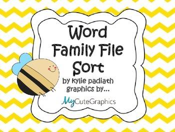 Word Family File Sort