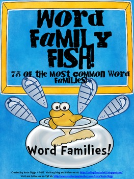 Word Family Fish!