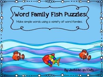 Word Family Fish Puzzles