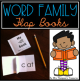 Word Family Flap Books
