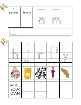 Word Family Flip Book Set: Short A