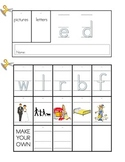 Word Family Flip Book Set: Short E