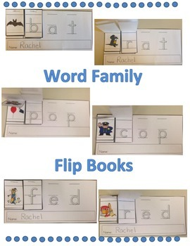 Word Family Flip Book Set: Short i