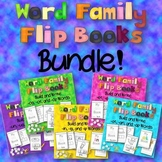 Word Family Flip Books Bundle {Build and Write Word Families}