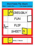 Word Family Flip Sheets - Set 1