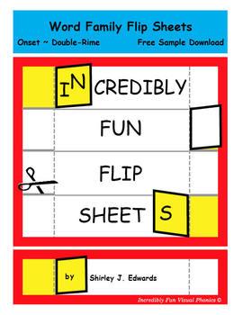 Word Family Flip Sheets - Set 2