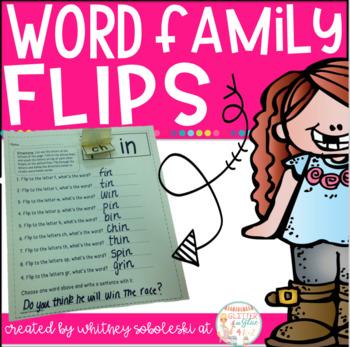 Word Family Flips