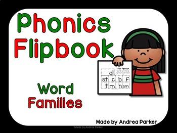 Word Family Flipbooks for Ending Sounds
