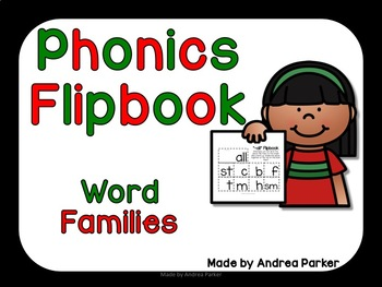 Word Family Flipbooks for Ending Sounds