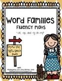Word Family Fluency Mats