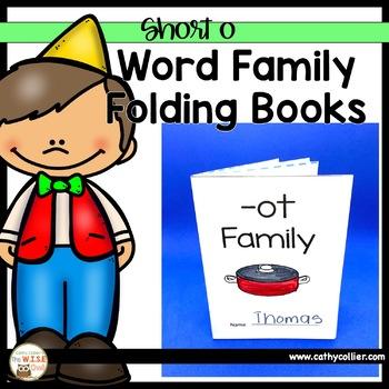 Word Family Foldable Books:  Short O