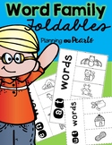 Word Family Foldables