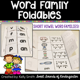 Word Family Foldables {Short Vowel CVC Word Families}