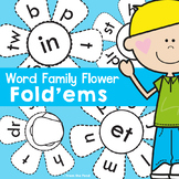 Word Family Activities - Printable Interactive Flip Flap Fun