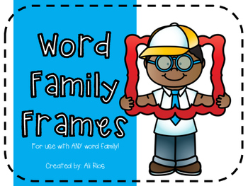 Word Family Frames