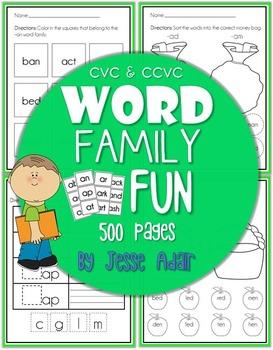 Word Family Fun