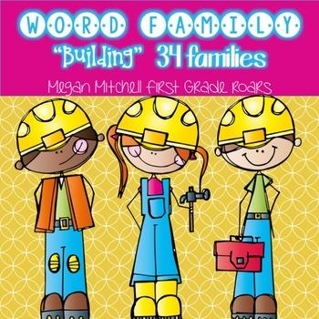 Word Family Fun...34 Word Families!