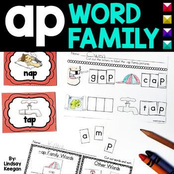 Word Family Fun! -ap Family