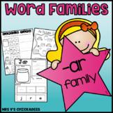 CVC Word Families: -ar family