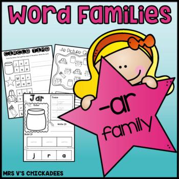 Word Family Fun: -ar family {Teach Word Families & Strengt