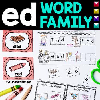 Word Family Fun! -ed Family