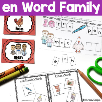 Word Family Fun! -en Family