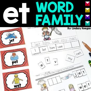 -et Word Family Fun!