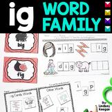 -ig Word Family Fun!