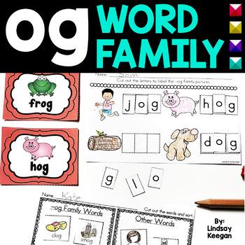 Word Family Fun! -og Family
