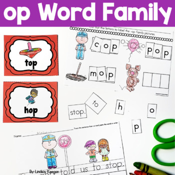 Word Family Fun! -op Family