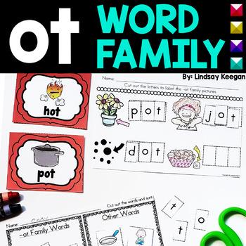 Word Family Fun! -ot Family