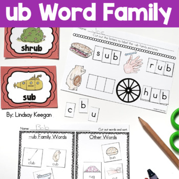 Word Family Fun! -ub Family
