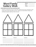 Word Family Gallery Walk