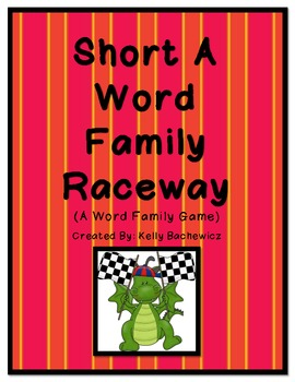Word Family Game (Short A Raceway)