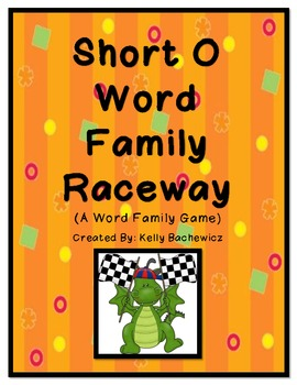 Word Family Game (Short O Raceway)