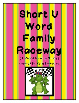 Word Family Game (Short U Raceway)
