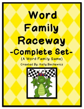 Word Family Game (Short Vowel Complete Set)