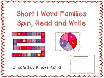 Word Family Game: Short i