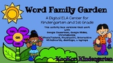 Word Family Garden-A Digital Literacy Center (Compatible w