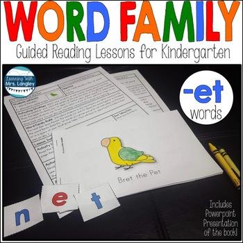 Word Family Books: Bret the Pet