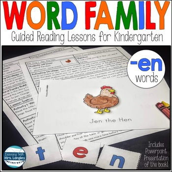Word Family Guided Reading: Jen the Hen