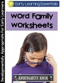 Word Family Handwriting Workbook